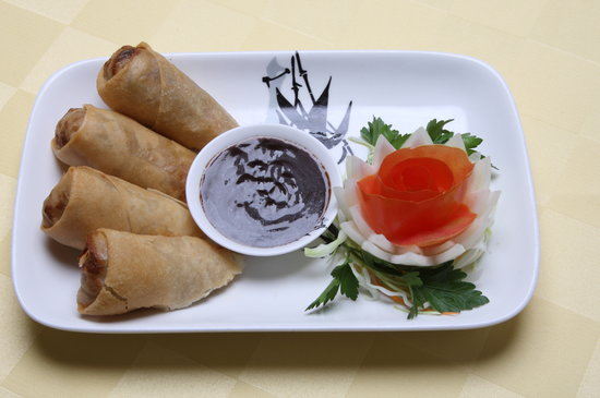 Yo' Thai Asian Restaurant : CRISPY DUCK ROLL