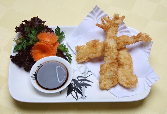 Yo' Thai Asian Restaurant : TEMPURA PRAWNS