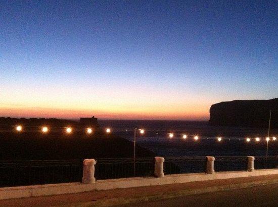 Da Manuel Restaurant: View at sunset