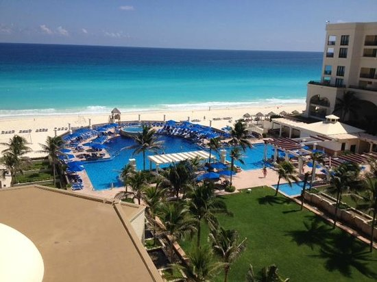 Mexico Hoteles: La playa expectacular!! de dia