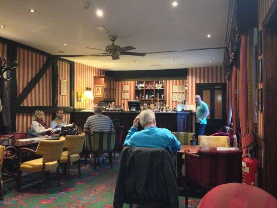 The Vine Restaurant: In the bar