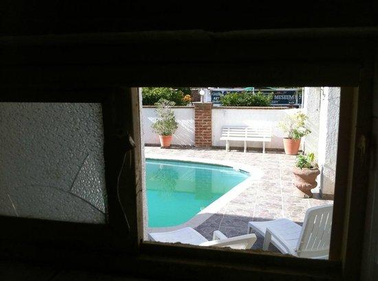 Motel Guluarte : View from bathroom