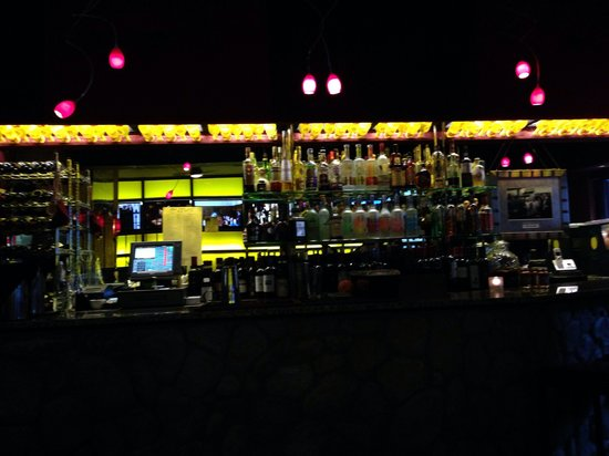 Strega : The bar. Small but nice.