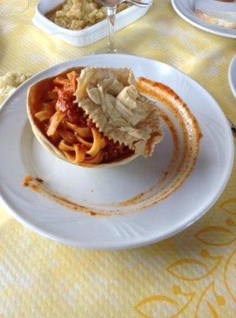L'Uliveto: primo piatto