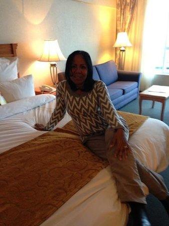 Niagara Falls Marriott Fallsview Hotel & Spa: En la habitacion, con vista a las cataratas!!!