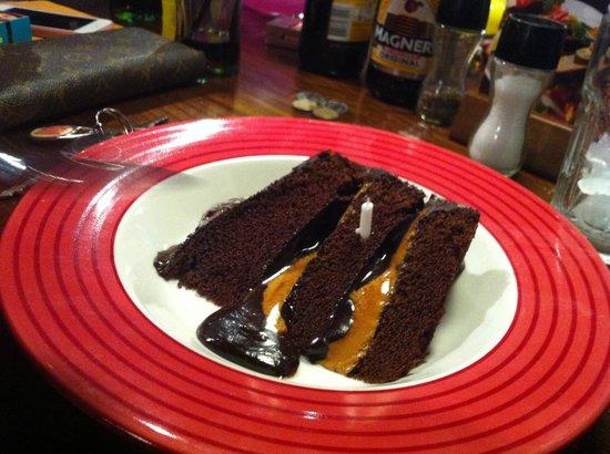 TGI Fridays Birthday Surprise Cake