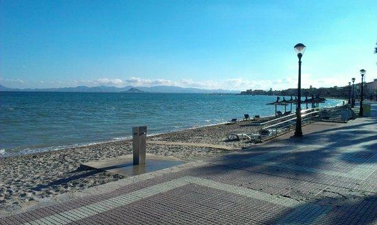 Hotel Costa Narejos: Beach View
