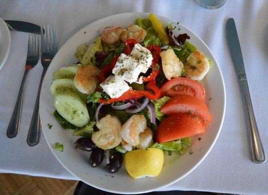 Athens On 4th Avenue : Shrimp Salad