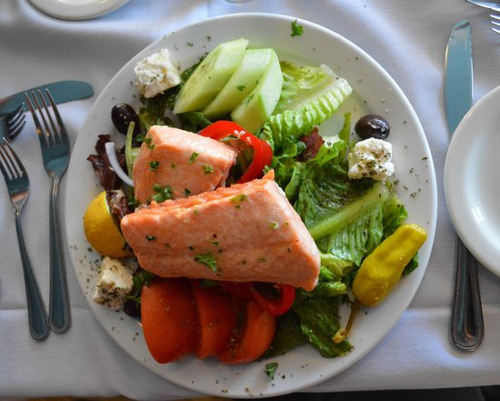Athens On 4th Avenue: Salmon Salad