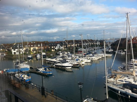 Boathouse Hotel: View from our room