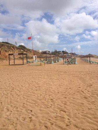 Praia Da Gale Restaurante: The restaurant from the beach