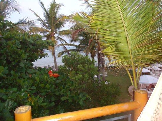 Enseada dos Corais Praia Hotel : vista do quarto