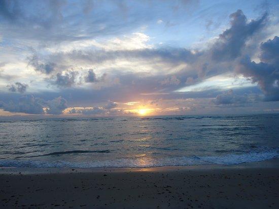 Enseada dos Corais Praia Hotel : 5:40 da manhã em mucugê