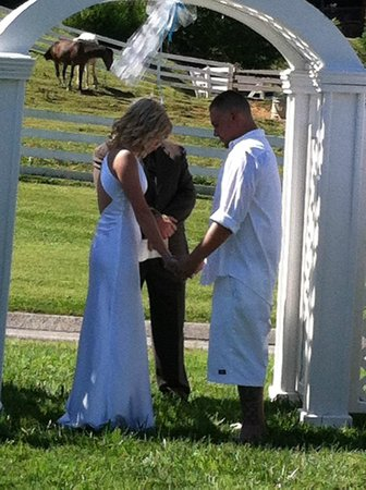 Oak Tree Lodge: Wedding by the Stables