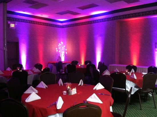 Oak Tree Lodge : Mood lighting at our Convention Center