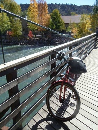 Quality Inn Durango: Loaner bike