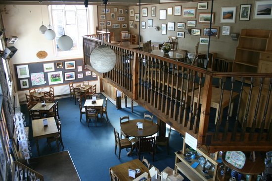 Longnor Craft Centre and Coffee Shop: The Old Market Hall provides a spacious and relaxed atmosphere for all our visitors