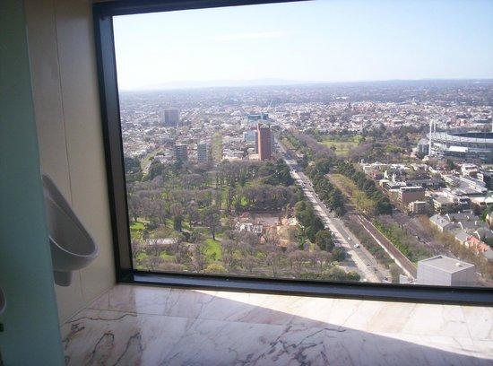 Sofitel Melbourne on Collins: toilettes avec vue imprenable