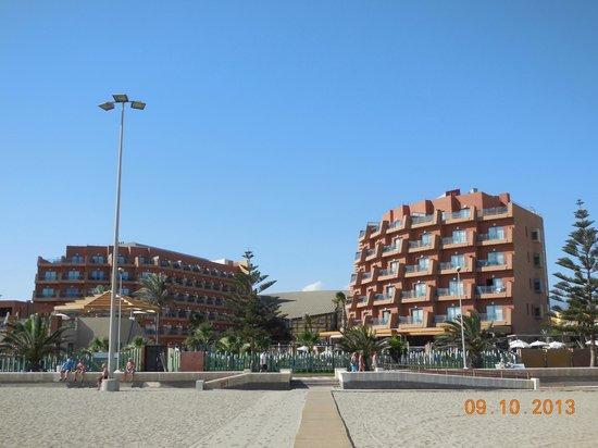 Protur Roquetas Hotel & Spa: Desde la Playa
