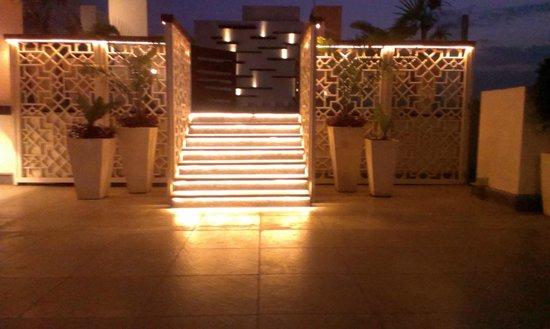 Hilton Garden Inn Gurgaon Baani Square India: Entrance for the swimming pool