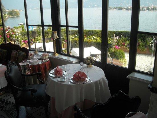 Hotel Villa & Palazzo Aminta : ristorante e il ns tavolo