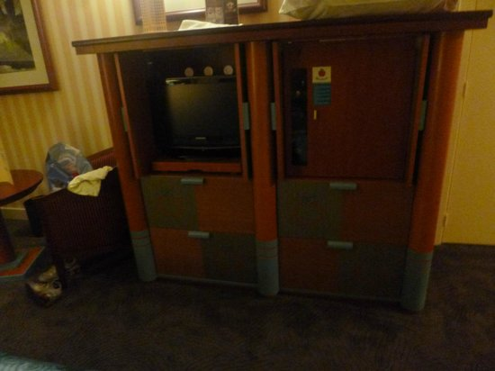 disneys hotel new york meuble tv