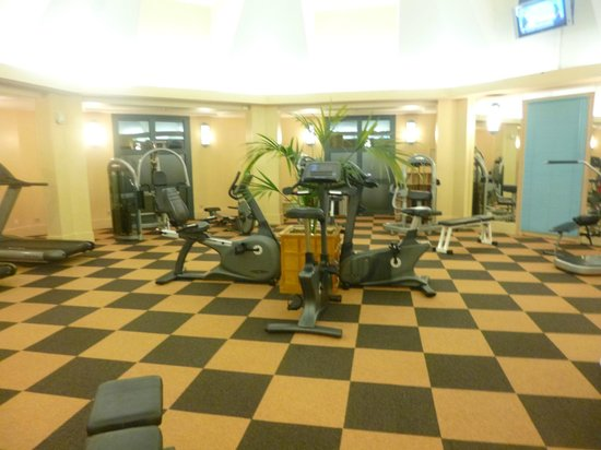salle de sport - photo de disney's hotel new york, chessy
