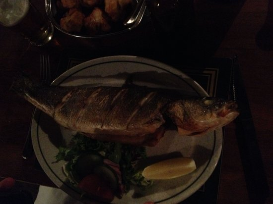 Madeira: Grilled Sea Bass Superbly cooked!