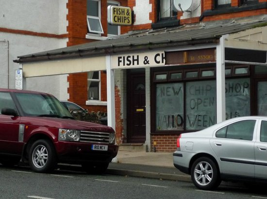 Plaice 2 Be, Colwyn Bay - closed down