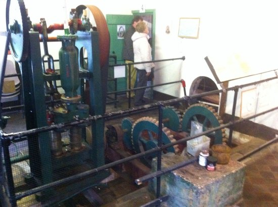 Sherborne Steam and Waterwheel Centre : The old water pumps