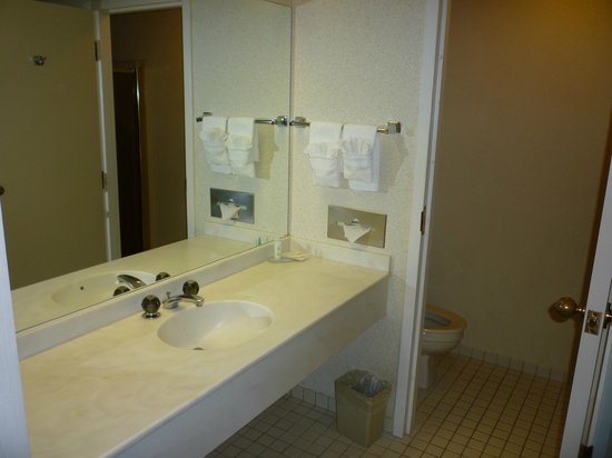 Baymont Inn & Suites Mundelein Libertyville Area : Large bathroom