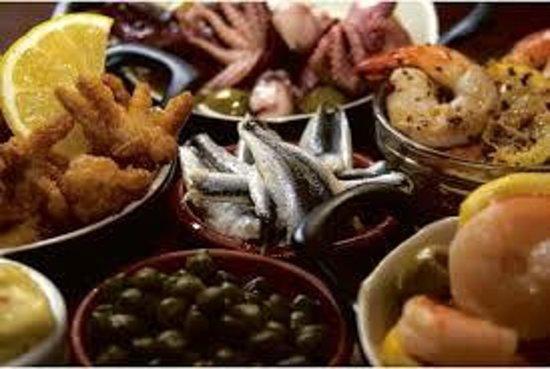 The Oak Room: food KS 123