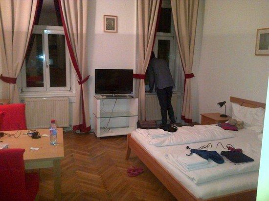 Belvedere Appartements: camera