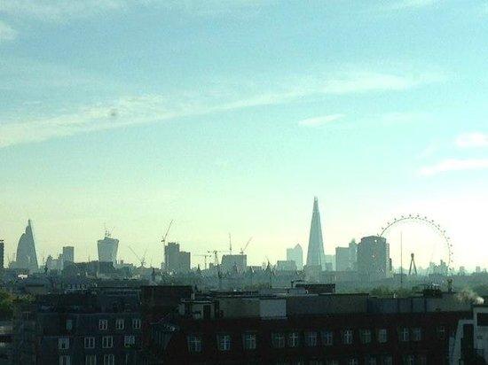 COMO Metropolitan London : view from room 903