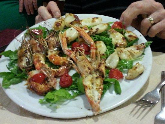La Fornace: Seafood