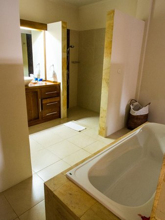 The Lovina: adult bathtub + shower