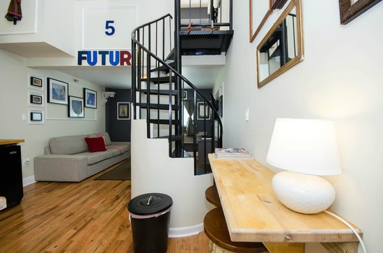 The Box House Hotel: Duplex Loft Suite