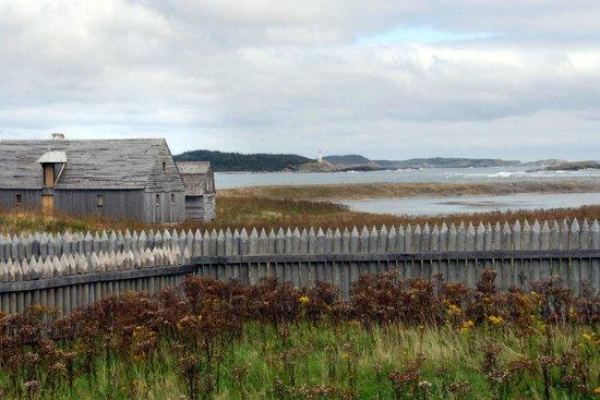 Le site historique national de la Forteresse de Louisbourg : View across Bay