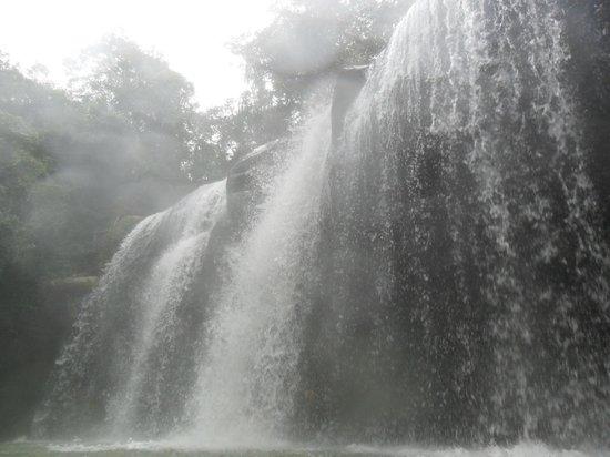 Huila Department, Colombia: Cascada de la Serpiente, quebrada la Motilona, Paicol . Huila.