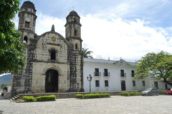 Huila Department, Colombia: Iglesia Santa Rosa de Lima en Paicol, declarada patrimonio arquitectonico del Departamento del H