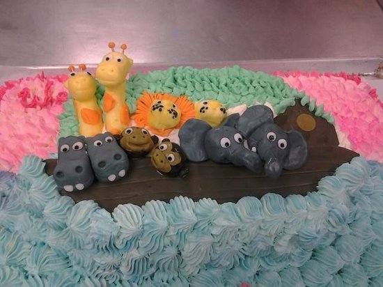 Cathy's Place: Baby shower cake