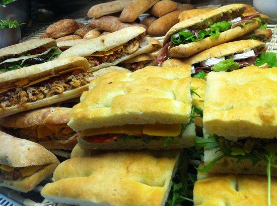 Barista & Baker: Les Sandwichs