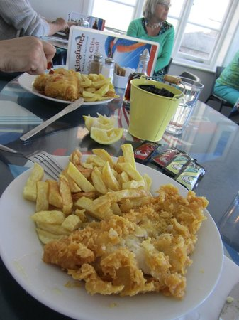 Kingfisher: Fish and Chips