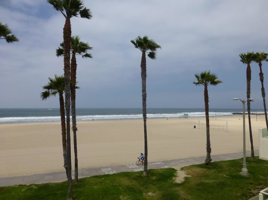 Venice On The Beach Hotel: Out the window