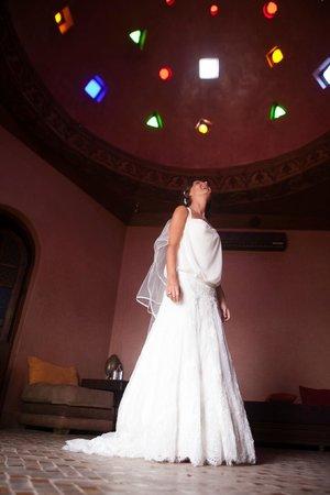 Kasbah Le Mirage: mariée dans le spa