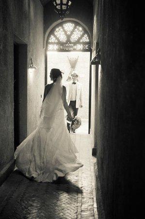 Kasbah Le Mirage: mariés dans la kasbah