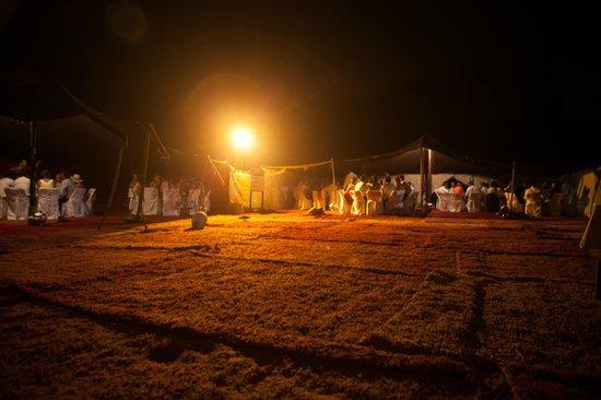 Kasbah Le Mirage: tentes mariage