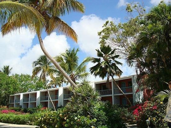 Bolongo Bay Beach Resort: resort building