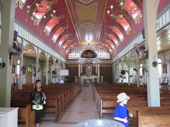 Culion, Philippines: La Immaculada Concepcion Church.