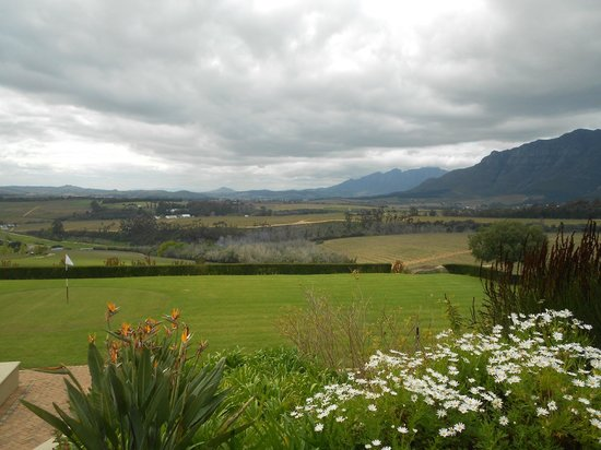 Le Quartier Francais: Wine Country, view from Ernie Els' winery